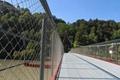 Steel Mesh Balustrade for Bridge, Path