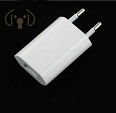 Original EU European 2 Pin Plug USB Power Home Wall Charger Travel Adapter