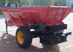 拖拉機配套大型撒肥車