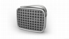 Mini Portable Bluetooth Speaker With Silicone Case LED Light  Hand-free Function