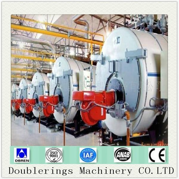 Natural Gas And Oil Fired Boiler 3