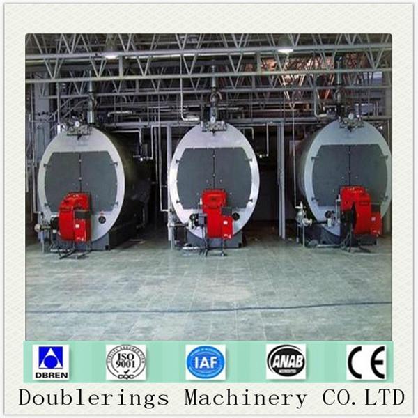 Wns4-1.25-q Fuel Gas Burner 4 Ton Superheated Steam Boiler - WNS4 ...