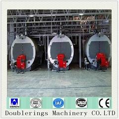 Wns4-1.25-q Fuel Gas Burner 4 Ton Superheated Steam Boiler