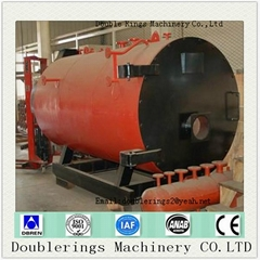 Wns Series Oil And Gas Dual Fired Steam Boiler