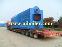 Auto Feeding Coal Fired Fire Tube Boiler