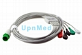 Zoncare 7000C ECG Cable with leadwires