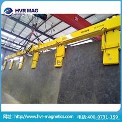 悍威直銷傾斜焊接鋼板用電永磁起重器