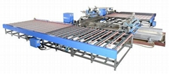 U type Double Edger and Polisher Line