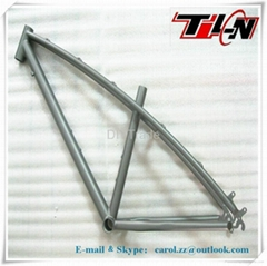new style MTB bicycle Titanium frames with all time warranty