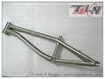 OEM titanium bmx bike frame custom