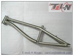 OEM titanium bmx bike frame custom lifetime warranty made in China