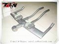 titanium rise handle bar titanium MTB