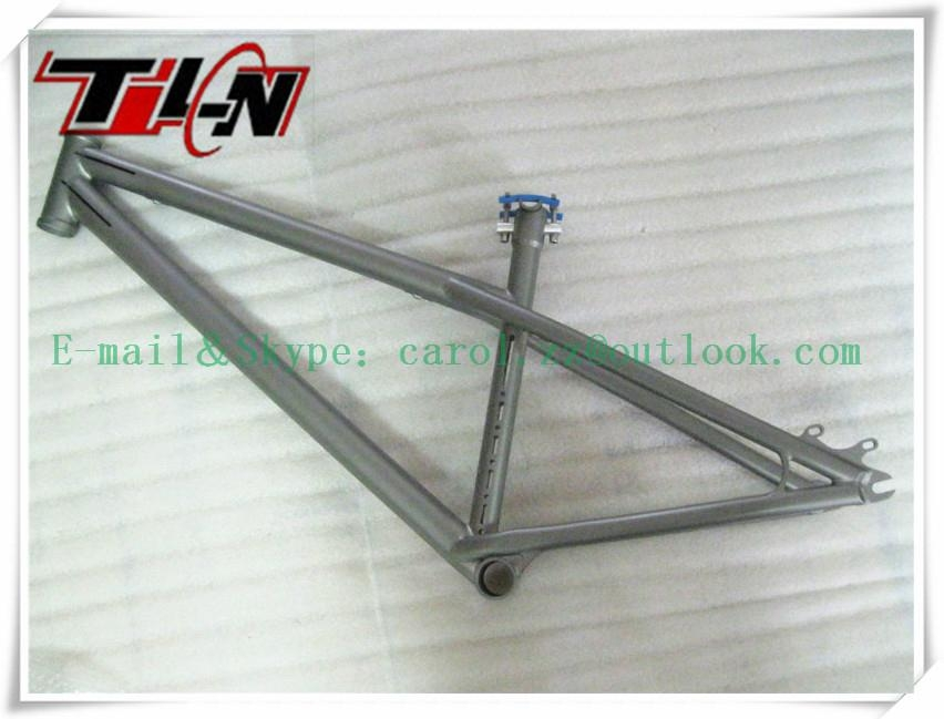Titanium BMX bike frames with all time warranty  1