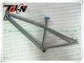 Titanium BMX bike frames with all time