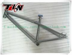 Titanium BMX bike frames with all time warranty