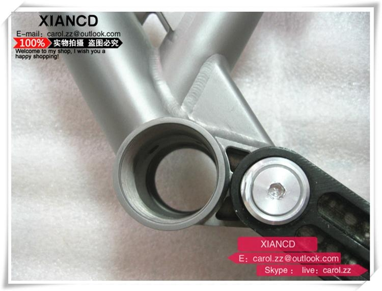 full suspention titanium mountain bike frames with all time warranty 2