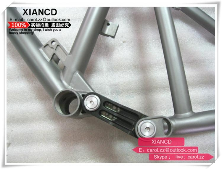 full suspention titanium mountain bike frames with all time warranty 4