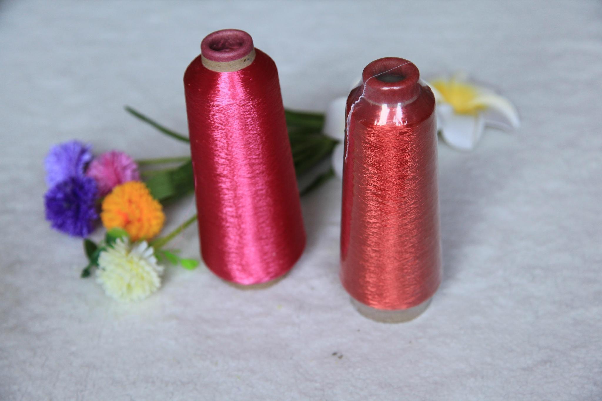 600D Pure Gold & Pure Silver Metallic Yarn 4