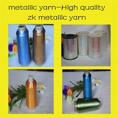 M, MX, MH types metallic yarn