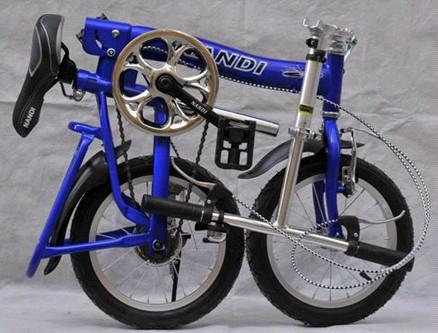 Folding bicycle folding bike with 14 inches wheels 3