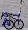 Folding bicycle folding bike with 14 inches wheels 4