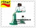 新型仿液壓籃球架