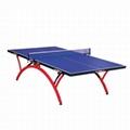 济南単折式乒乓球台的日常维护