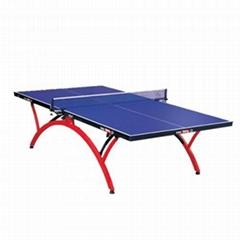 濟南単折式乒乓球台的日常維護