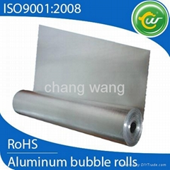 insulation board made of Aluminum foil and bubble layer
