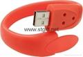 LED watch Silicon Bracelet Wristband USB 2.0 Memory Stick Flash Drive 3