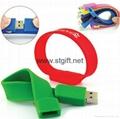 LED watch Silicon Bracelet Wristband USB 2.0 Memory Stick Flash Drive 4