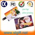 Wholesale 8GB flip Credit Card USB Flash