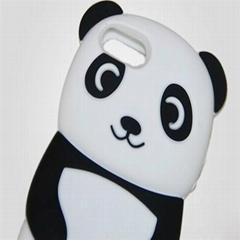 新款iPhone5手机壳情侣小熊猫手机壳
