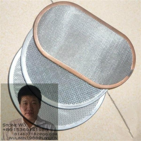 Circular Shape Stainless Steel Wire Mesh 2