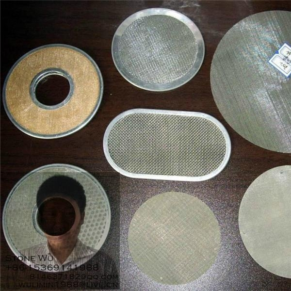 Circular Shape Stainless Steel Wire Mesh 3