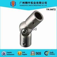 Stainless Steel Active Piper Connectors / Handrail Balustrade Fittings
