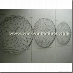 Wire tree root ball basket for tree nursery