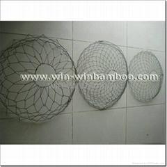 Wire tree rootball basket for tree nursery