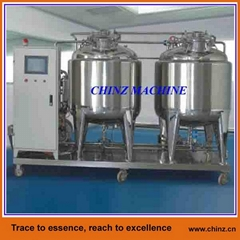 Automatic CIP rinsing systems