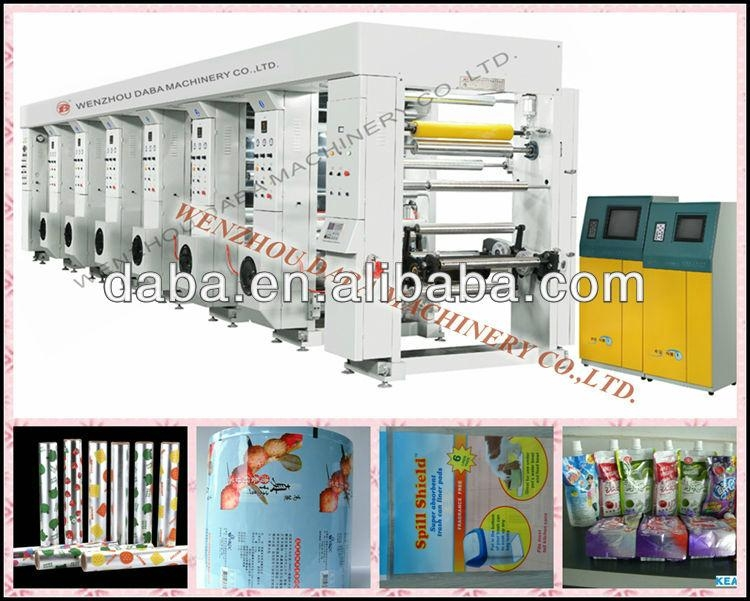 DBAY-1000A 6 color rotogravure printing machine 1