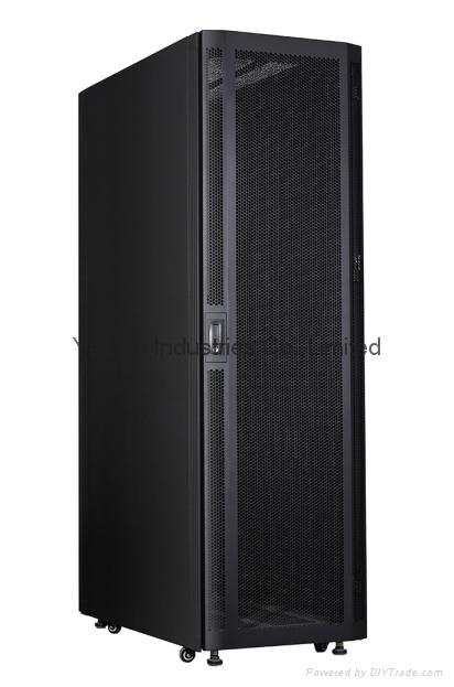 42U 800W*1000D*2000H  mesh door aluminum server cabinets  1