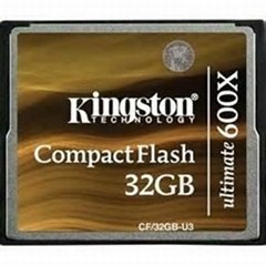 Kingston CompactFlash-Ultimate 600x CF/32GB-U3 Flash Card