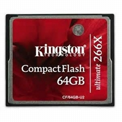 Kingston CompactFlash-Ultimate 266x CF 64GB-U2 Flash Card