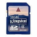 Kingston Class 4 SDHC SD4 16GB Memory