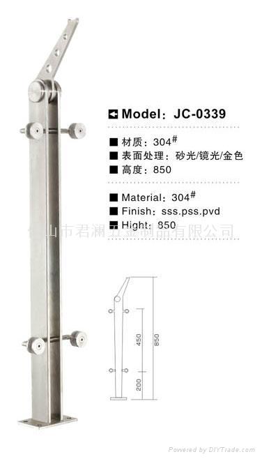 廠家直銷不鏽鋼樓梯立柱 1