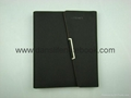 Textured PU leather cover agenda_China