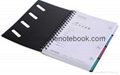 Printed cover wire-o notebook_China