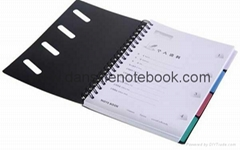 Printed cover wire-o notebook_China printing factory