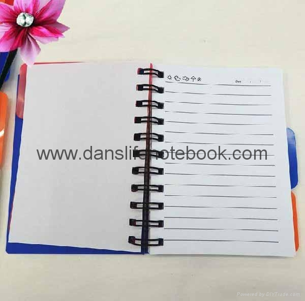 Printed cover spiral notebook_China printing factory 2