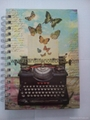 Printed cover spiral notebook_China printing factory 1